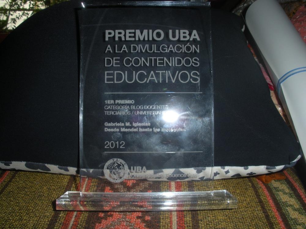 Entrega del 1er Premio UBA a Edublogs de docentes universitarios (5/6)