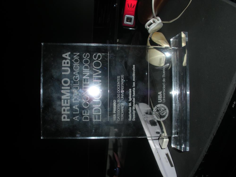 Entrega del 1er Premio UBA a Edublogs de docentes universitarios (4/6)