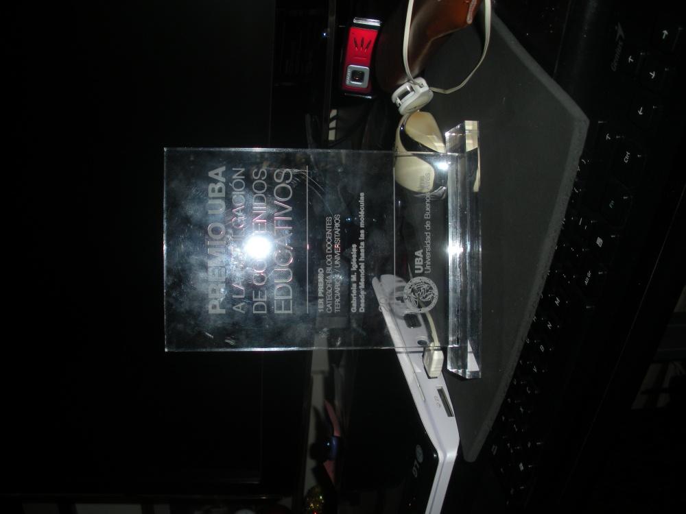 Entrega del 1er Premio UBA a Edublogs de docentes universitarios (3/6)
