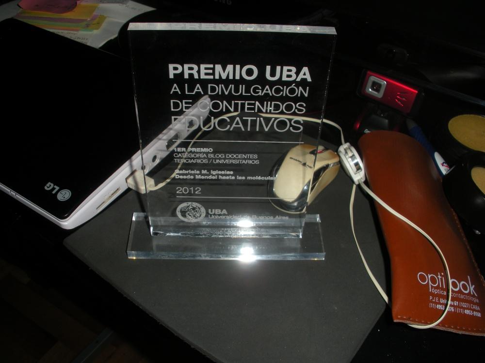 Entrega del 1er Premio UBA a Edublogs de docentes universitarios (2/6)