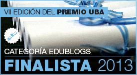 Finalista Premios UBA a edublogs