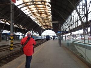Estacion de trenes de Praga (visita la museo de Mendel)