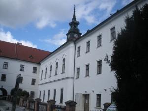 Vista de la Abadía donde trabajó Mendel