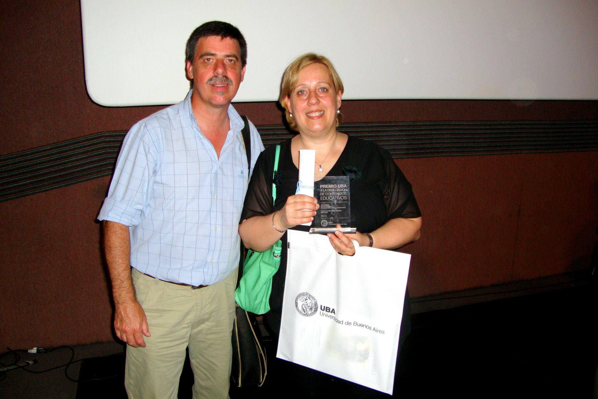 Silvia Carraud Premio UBA