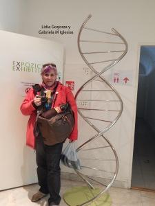 Doble Helice del museo  de Mendel y yo