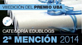 2014 a la divulgación de contenidos educativos en medios periodísticos nacionales. Edublogs