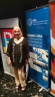 Premios UBA Gabriela Iglesias