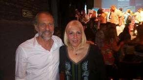 Junto con otro premiado Gustavo Barbosa